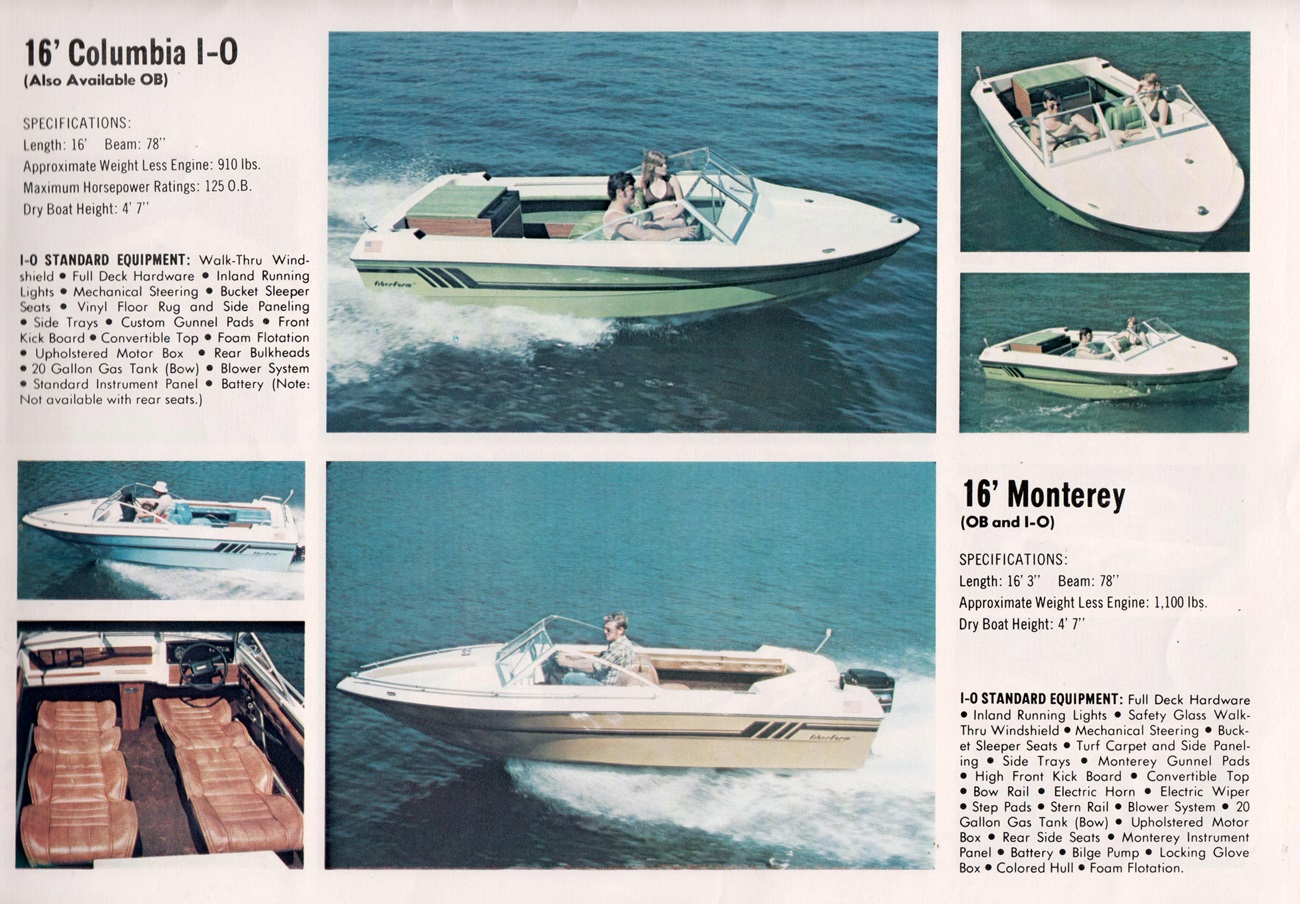 Fiberform motor cruiser range - 1977 catalogue | Page 2
