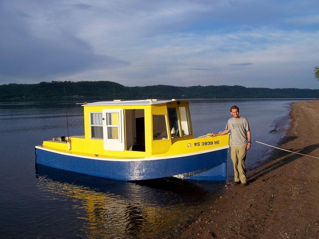 Jet Powered Bolger Micro Trawler Boat Design Net - Bolger micro trawler boats