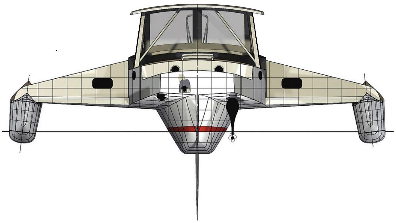 39 ft wind solar electric trimaran motorsailer concept by Laurie McGowan.jpg