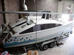 Small trailerable cruising cats    biggest flaw? | Boat Design Net