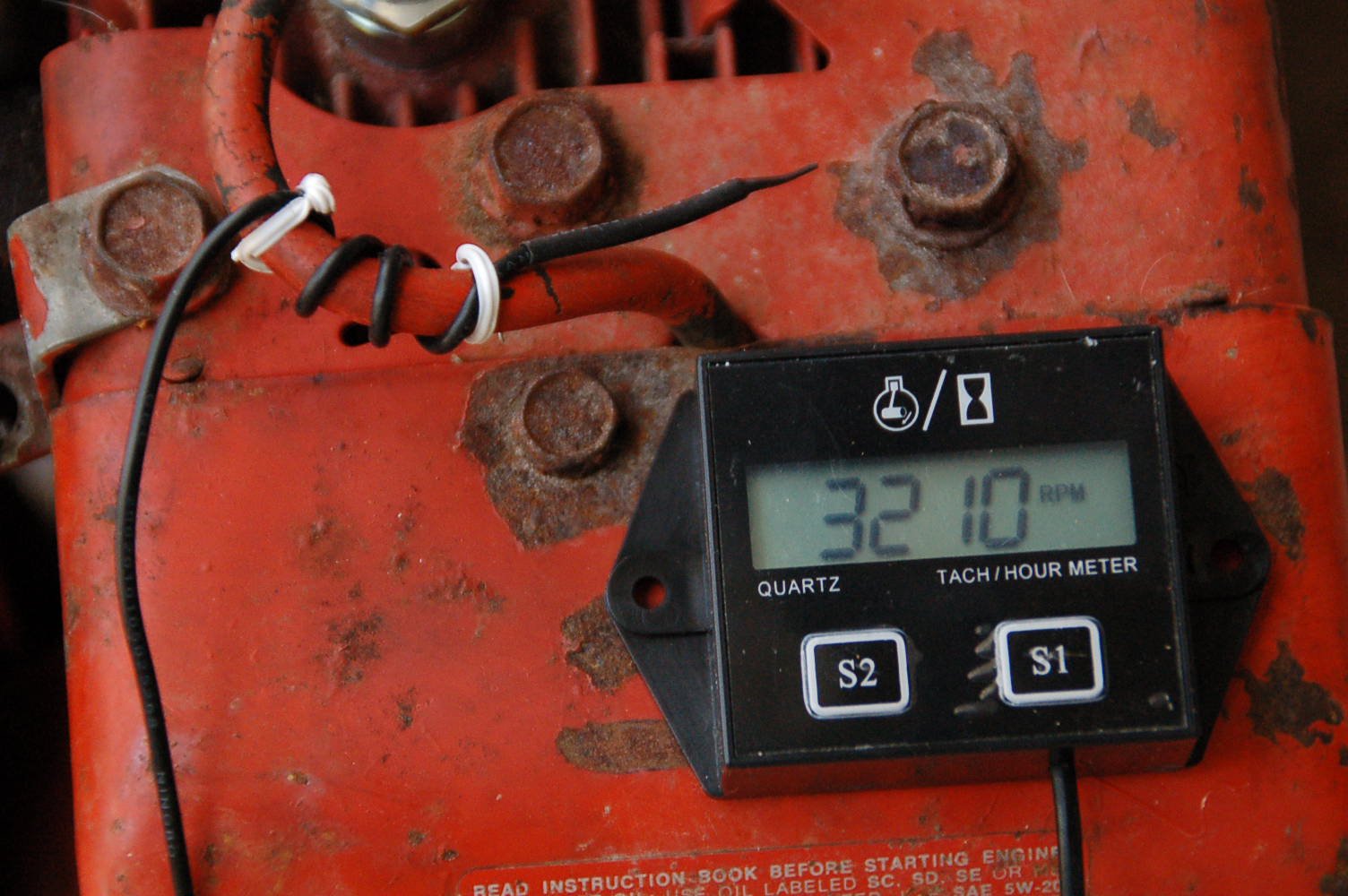 Usefull Tach/hour Meter For All Engines | Boat Design Net