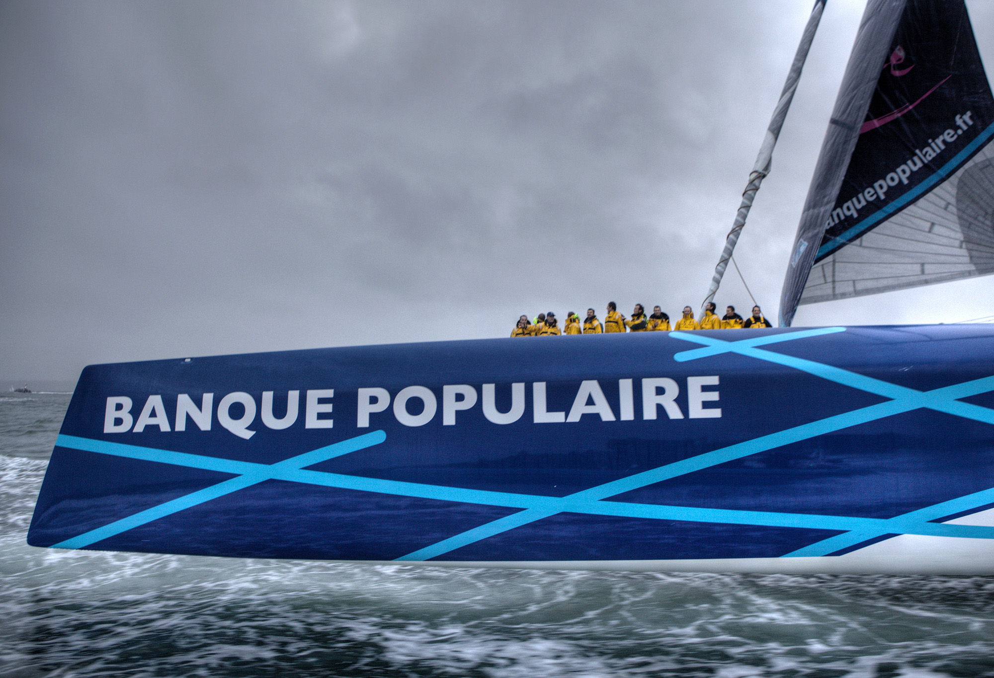 reverse bows on cruising cats pros and cons page 7 boat design net banque populaire 5 post victory from sa jpg