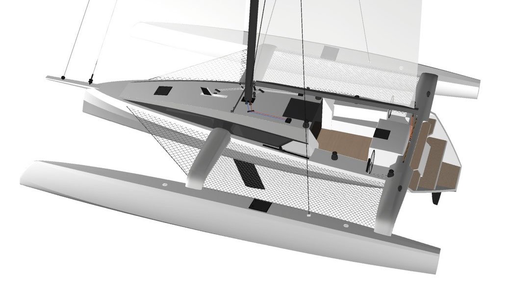 Looking for Bluewater Trimaran plans 40-50 feet | Boat
