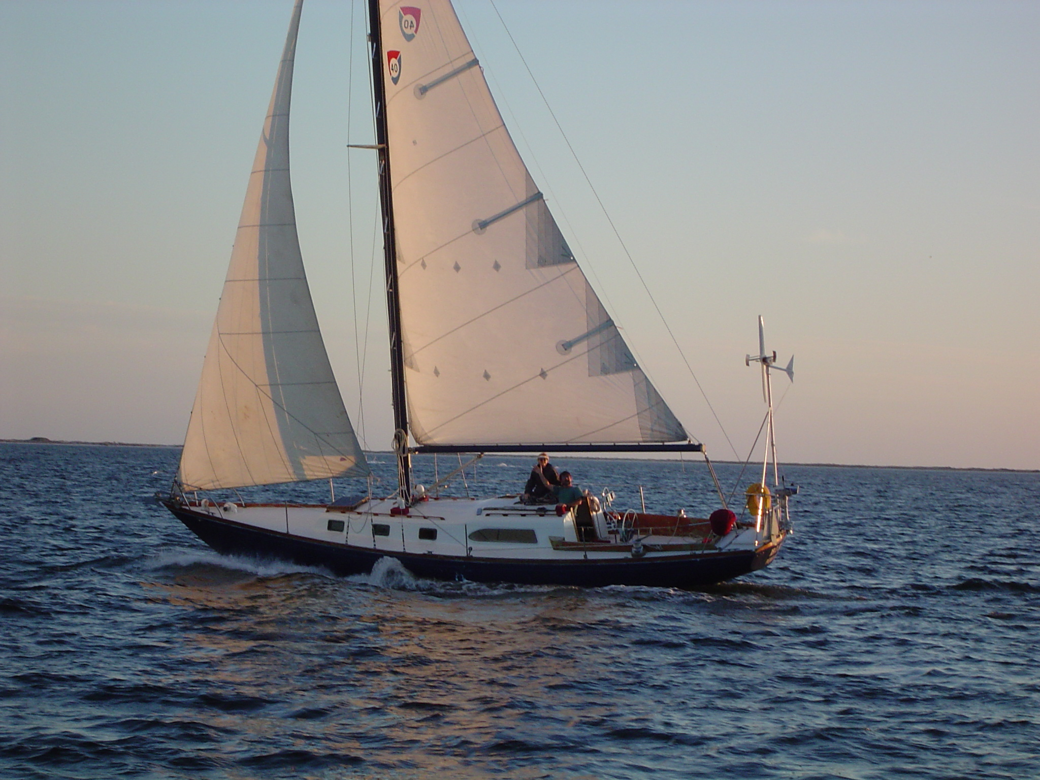 If I could do a yawl conversion on my C-40    | Boat Design Net