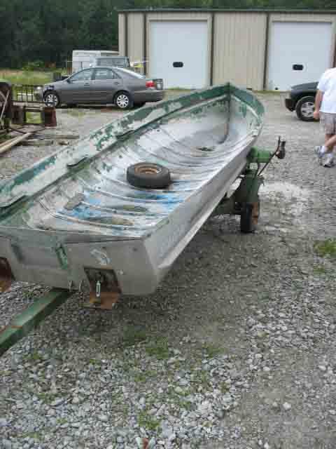 Help with aluminum Starcraft fixer-upper | Boat Design Net