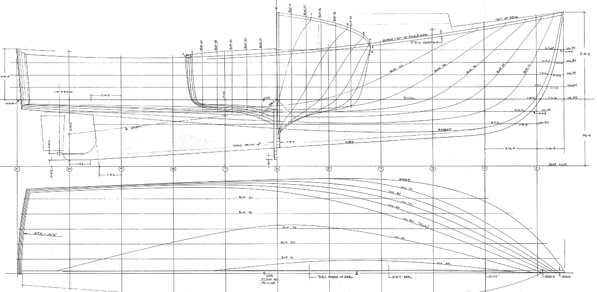Downeast hull design | Page 3 | Boat Design Net