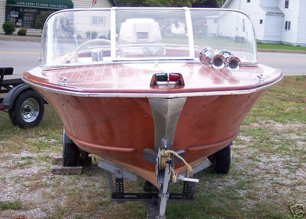 1965 Delta Holiday Wooden Boat Boat Design Net
