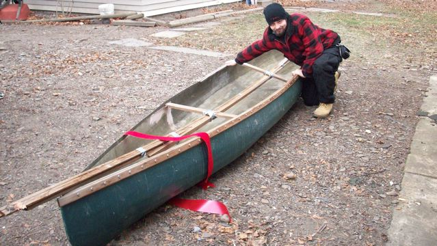 Major overhaul of fiberglass canoe | Boat Design Net