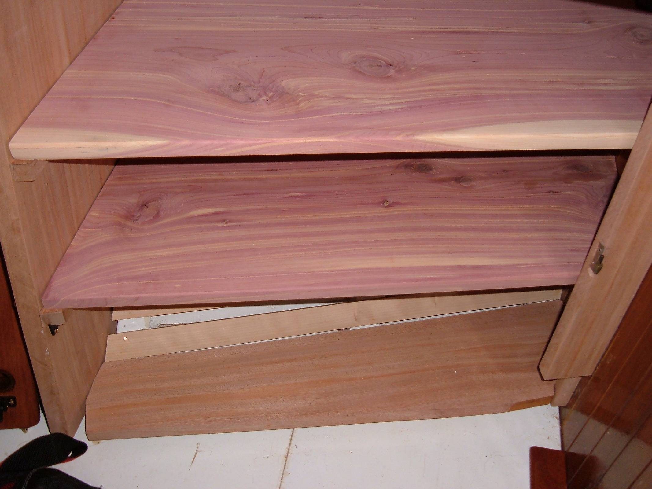 Cedar Closet For Your Boat