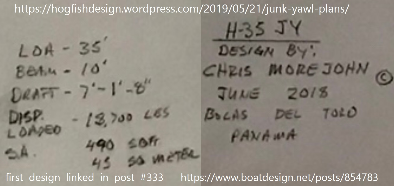 Chris Morejohn Hogfish Design some specs from first design linked in post 333.jpg