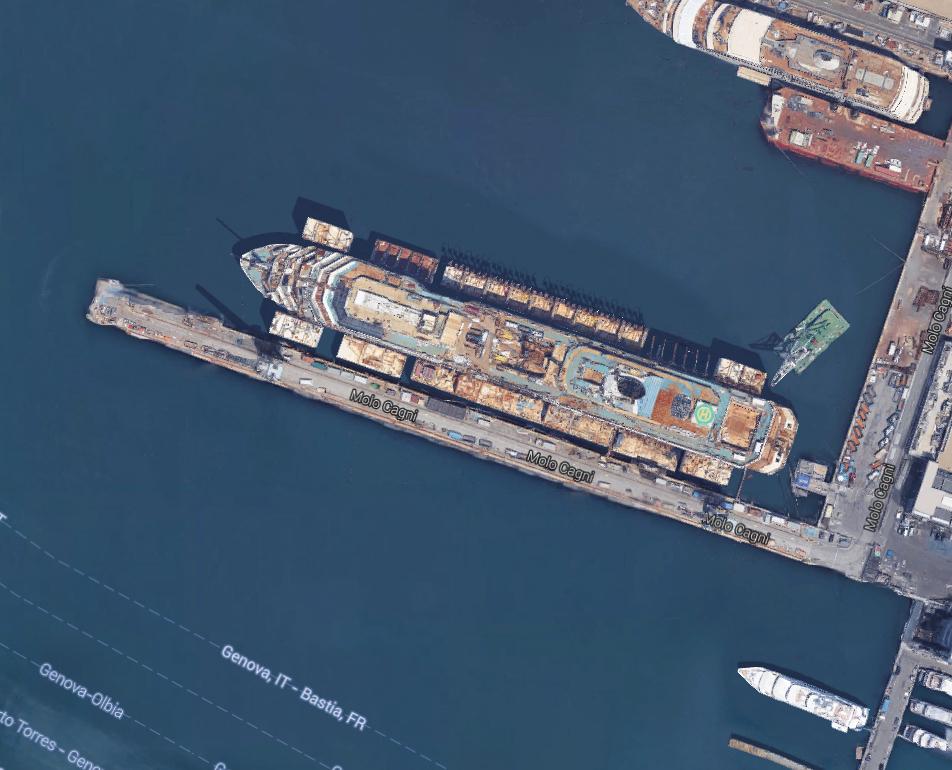 Last Voyage For Costa Concordia Cruise Ship Page Boat - Cruise ship google earth