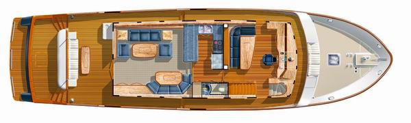 New Steel 70 Interior Yacht Proposed Layout Boat Design Net