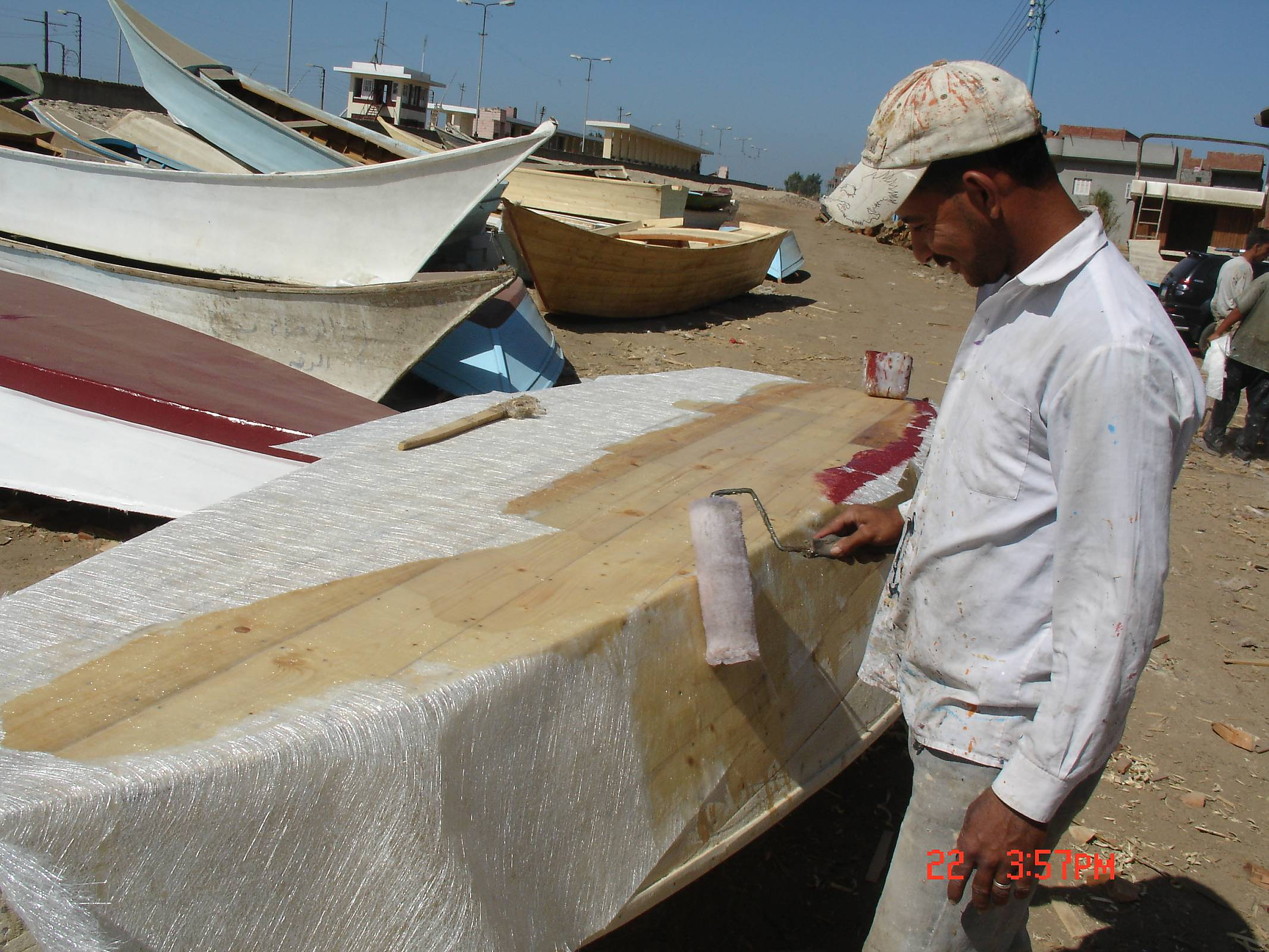 polyester resin stitch and glue | Boat Design Net