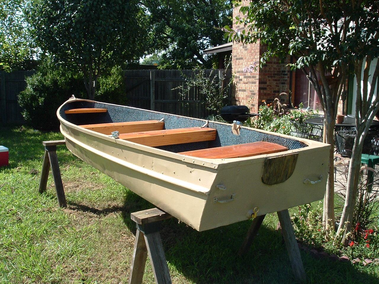 Restore And Repaint Aluminum Jon Boat Classic Boat Design Net