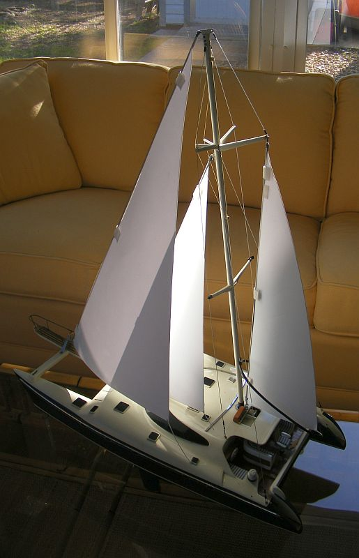 Scale Model Testing of Sailing Rigs,    Outdoors | Boat
