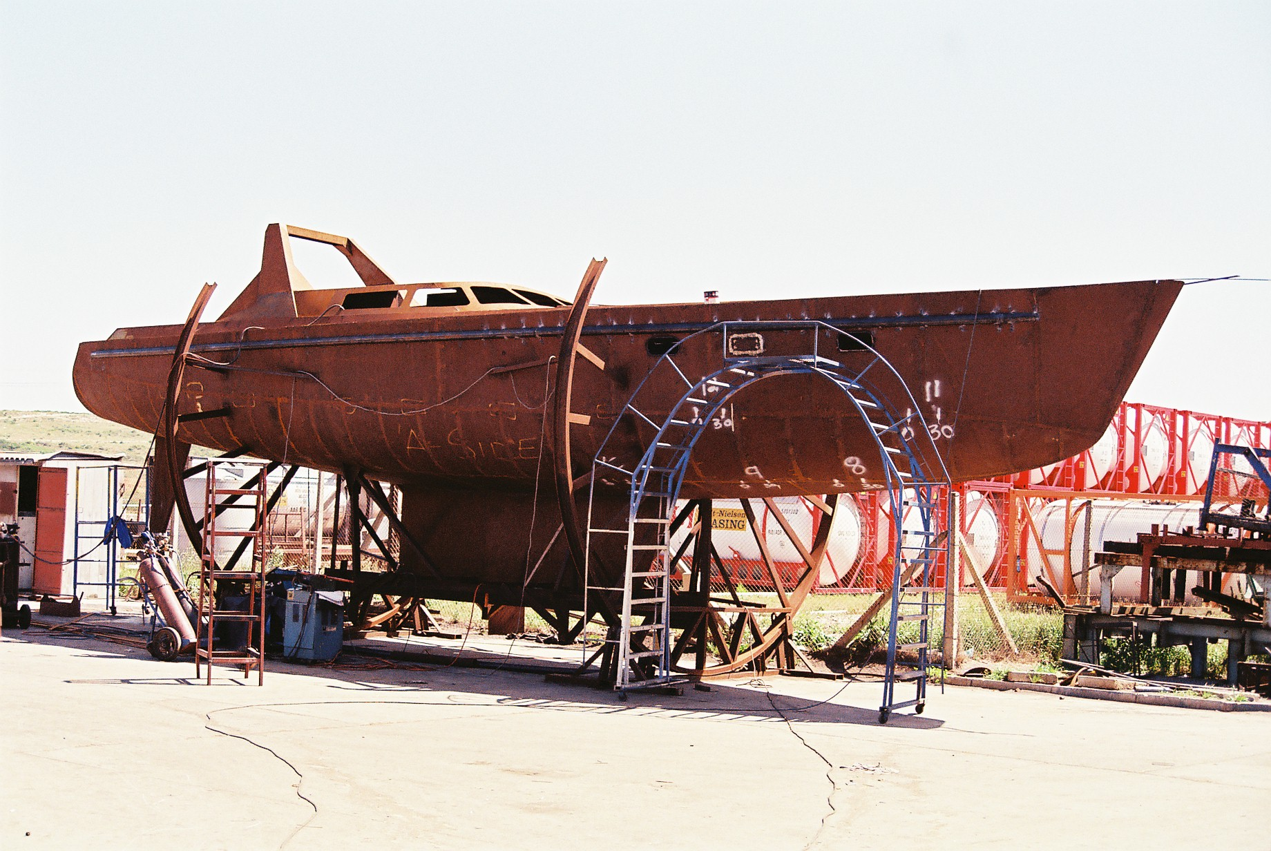 Origami Steel Boat