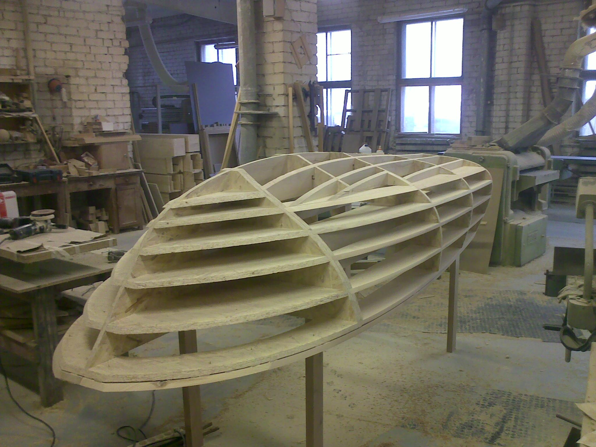 Form For Boat Construction