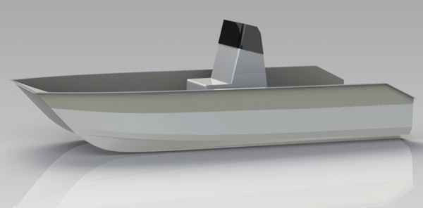 New small power catamaran designproduction boat design net futura 50001g sciox Image collections