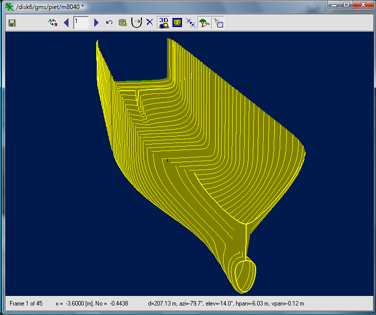 excel to DXF format conversion | Boat Design Net