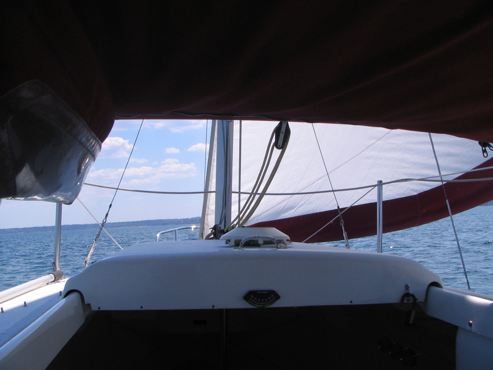 Ideas Needed For A Large Sliding Roof Hatch Grp Boat Boat Design Net