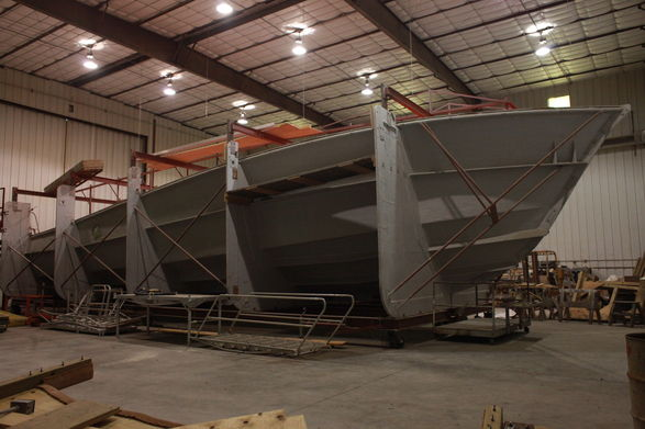 Complete Fiberglass Yacht Molds For Sale | Boat Design Net