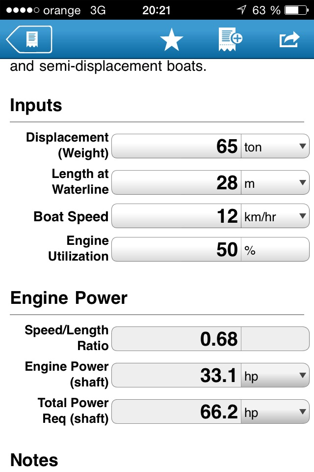 Tug boat and barge engine power calculation | Boat Design Net
