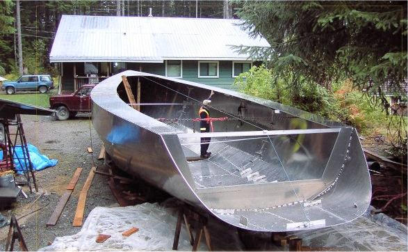 Origami steel yacht construction | Page 8 | Boat Design Net