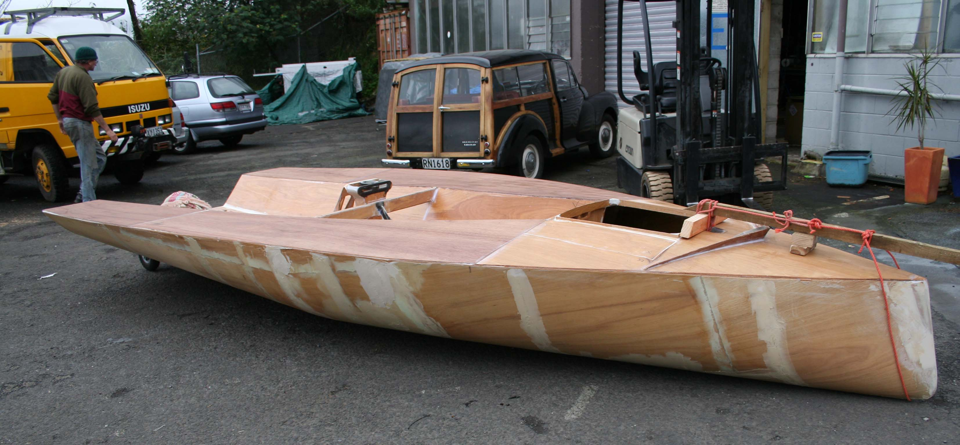Home built jet dinghy s from new zealand boat design forums - Img_1174 Jpg