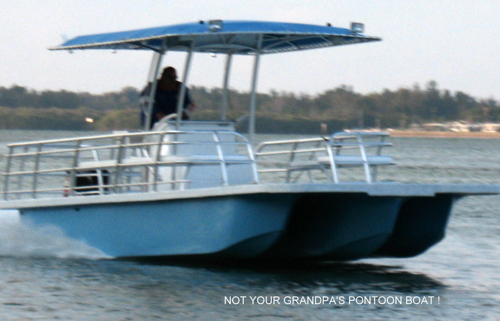 Opinions Wanted High Speed Fiberglass Pontoon Boats