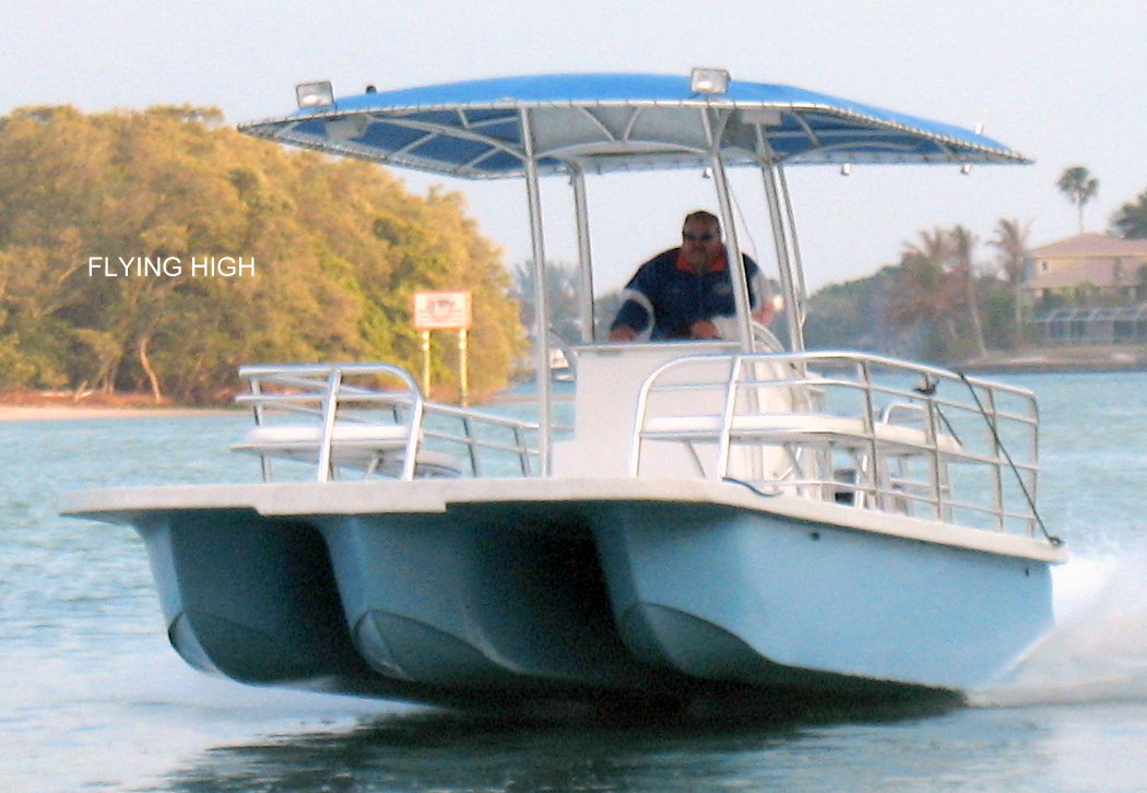 Opinions wanted: High Speed Fiberglass pontoon Boats | Boat