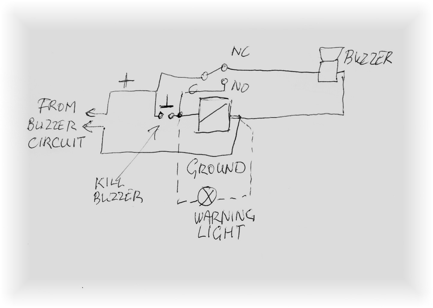 buzzer wiring diagram
