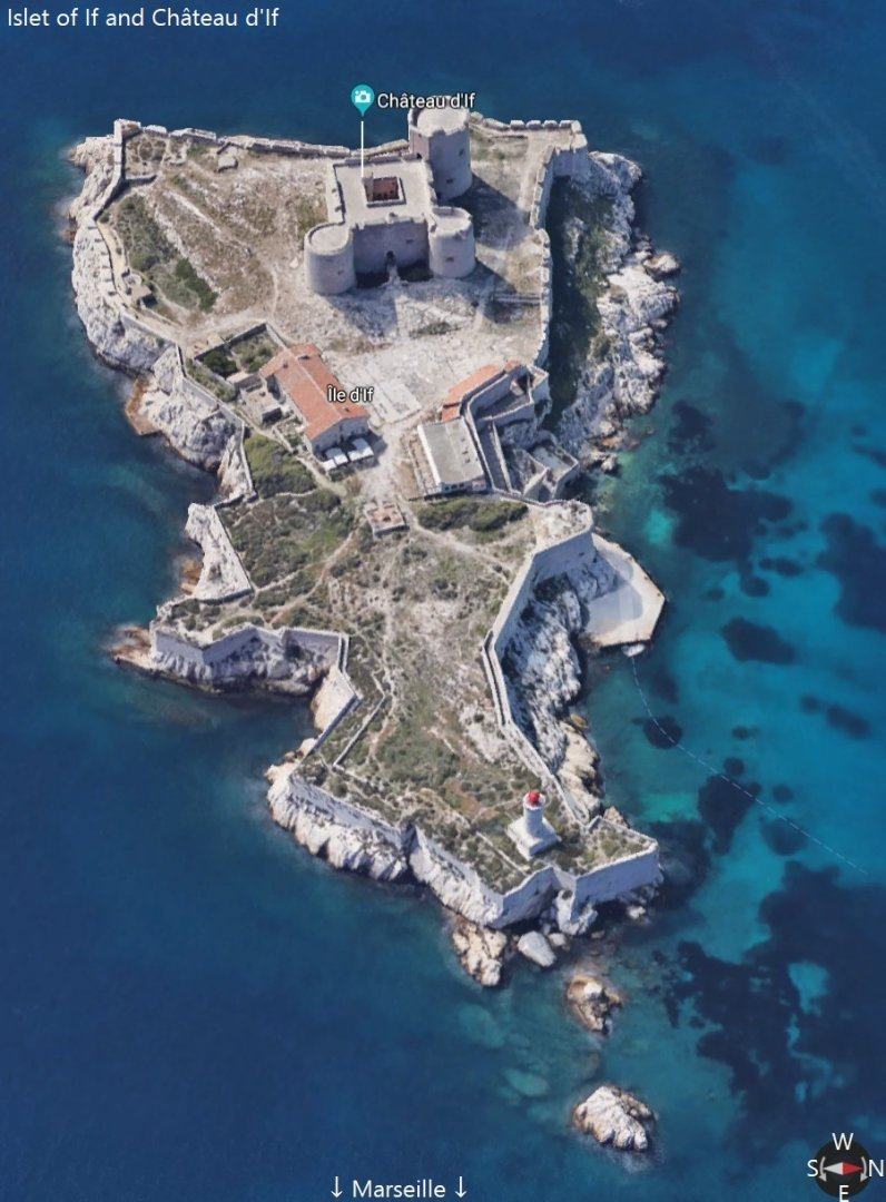 Islet of If and Château d'If just off Marseille France.jpg