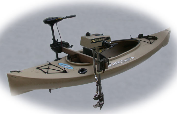 Outboard Powered Sot Kayak Boat