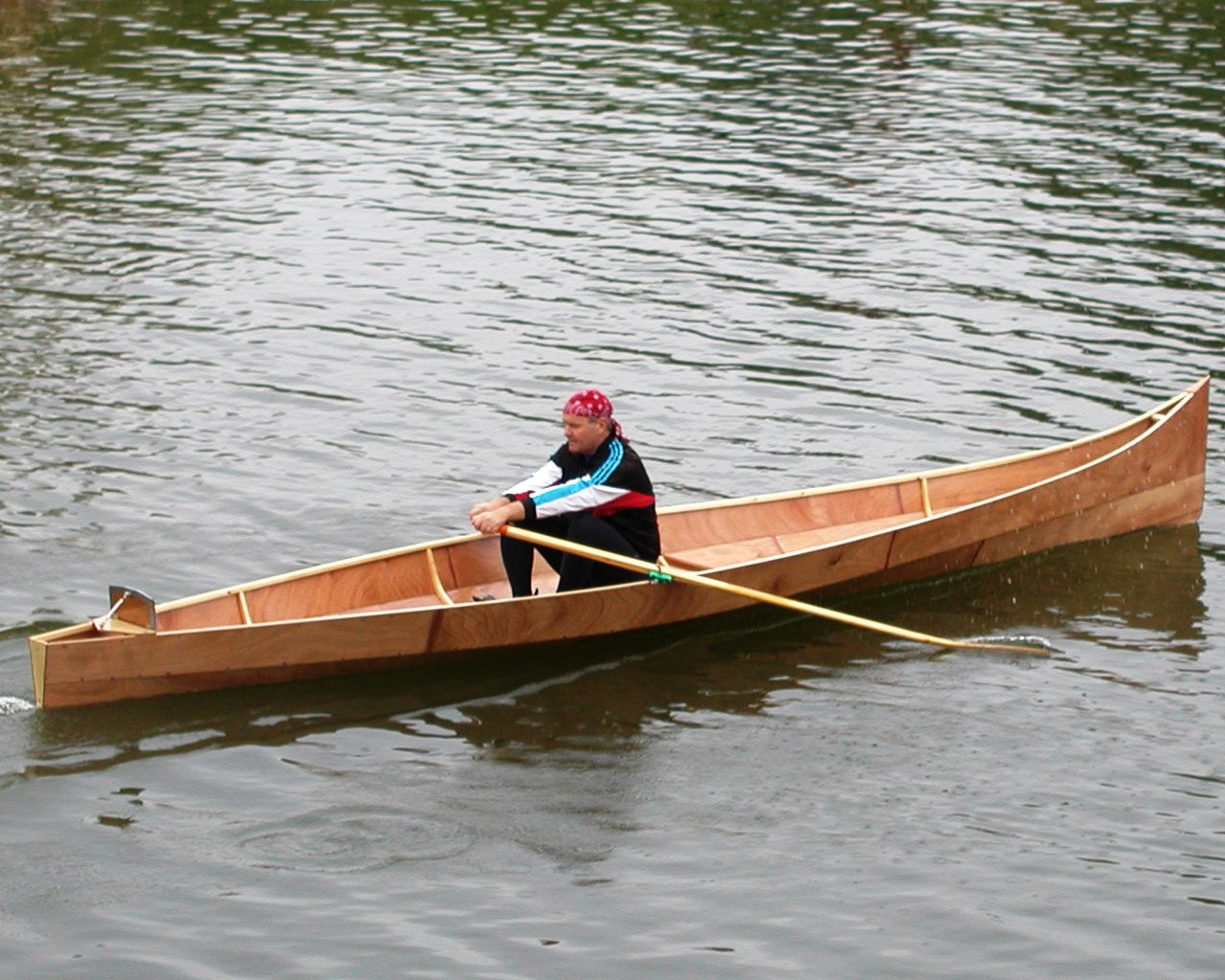 Designing A Fast Rowboat