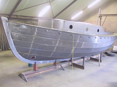 Steel Boat Building Techniques | Boat Design Net