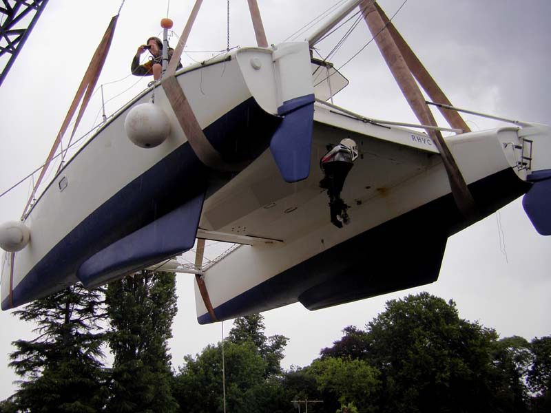 LAR keels and fixed spades rudders on a modified Dazcat 9.2.jpg