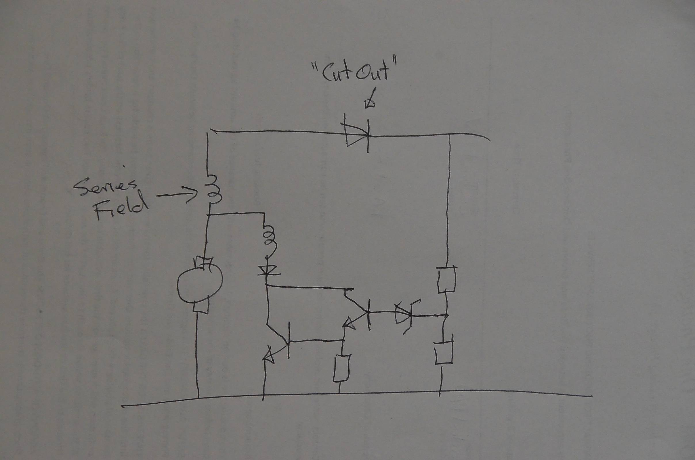 My onan MCCK generator is overcharging the start battery ... Onan Mcck Wiring Diagram on