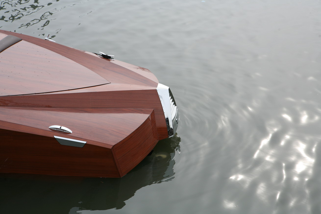 Best way to turn 19m cold molded epoxy boat | Boat Design Net