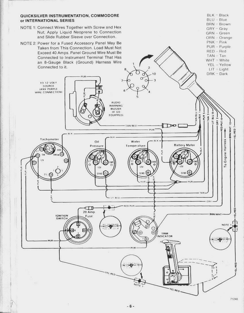 mercruiser wiring diagram mercruiser alternator wiring diagram  at webbmarketing.co