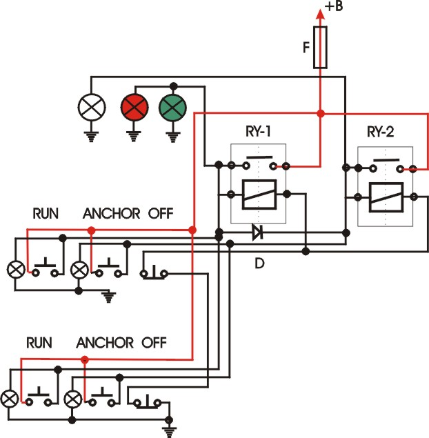 navigation light wiring for dual stations boat design net hotel switch wiring diagram at n-0.co