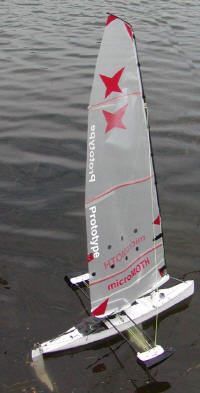 Large scale RC boat design and build project - with