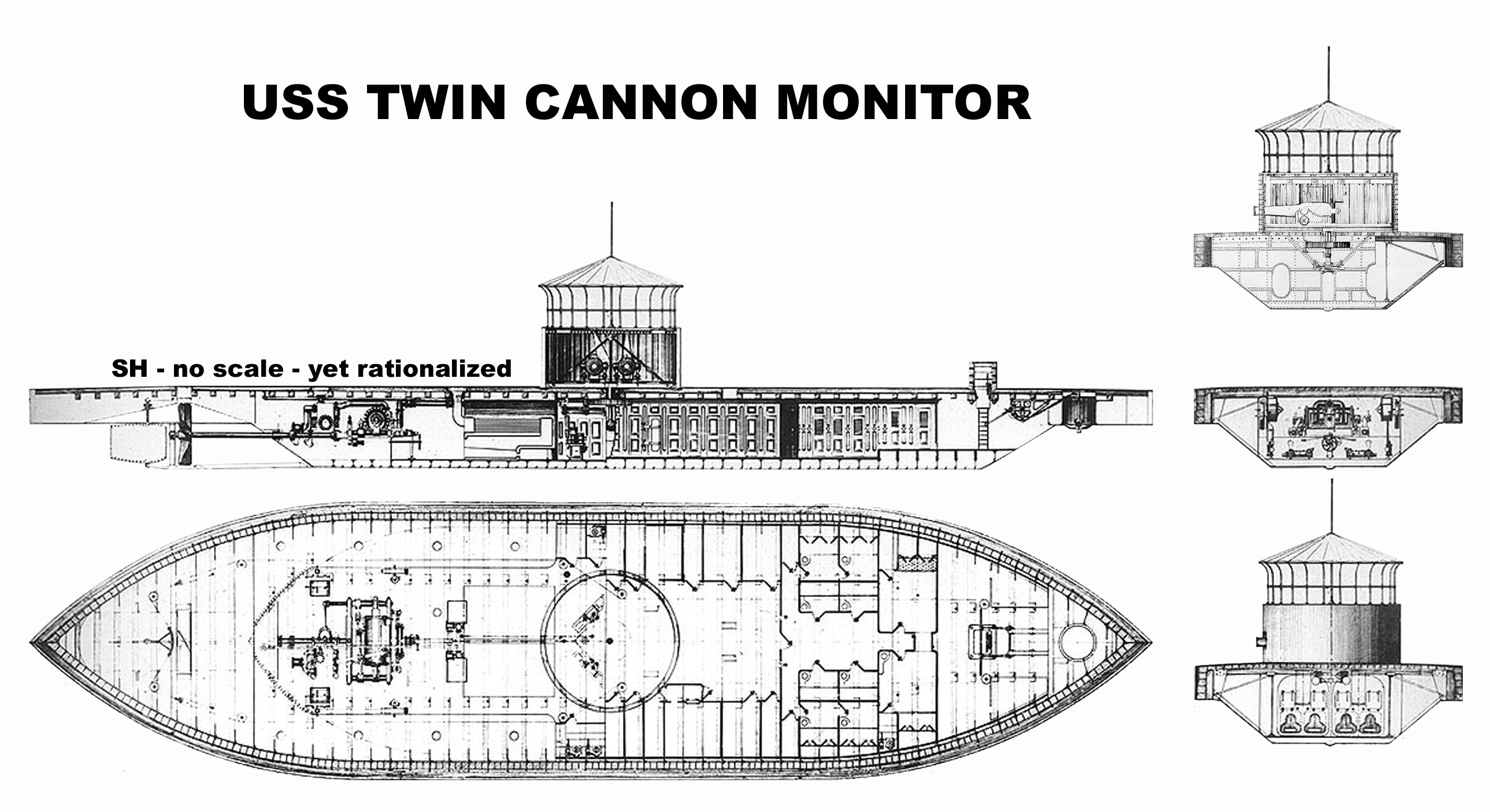 Marine Drum Switch Wiring Diagram Starting Know About Uss Monitor Library