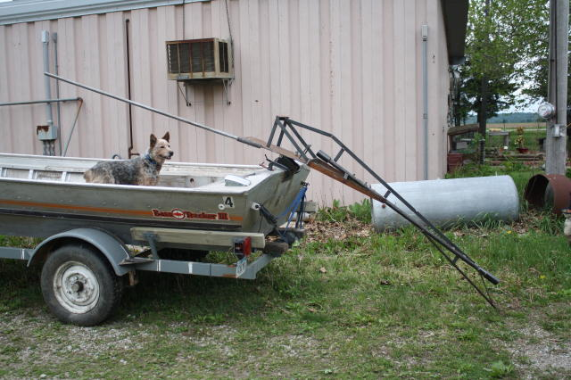 24 hp mudmotor finally finished boat design net