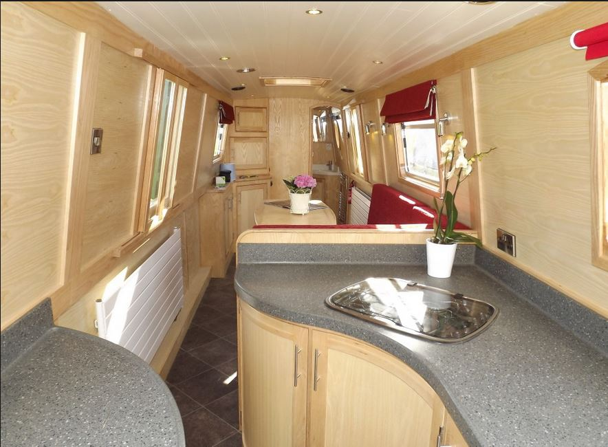 Extraordinary Modern Narrowboat Interior Images - Simple Design Home ...