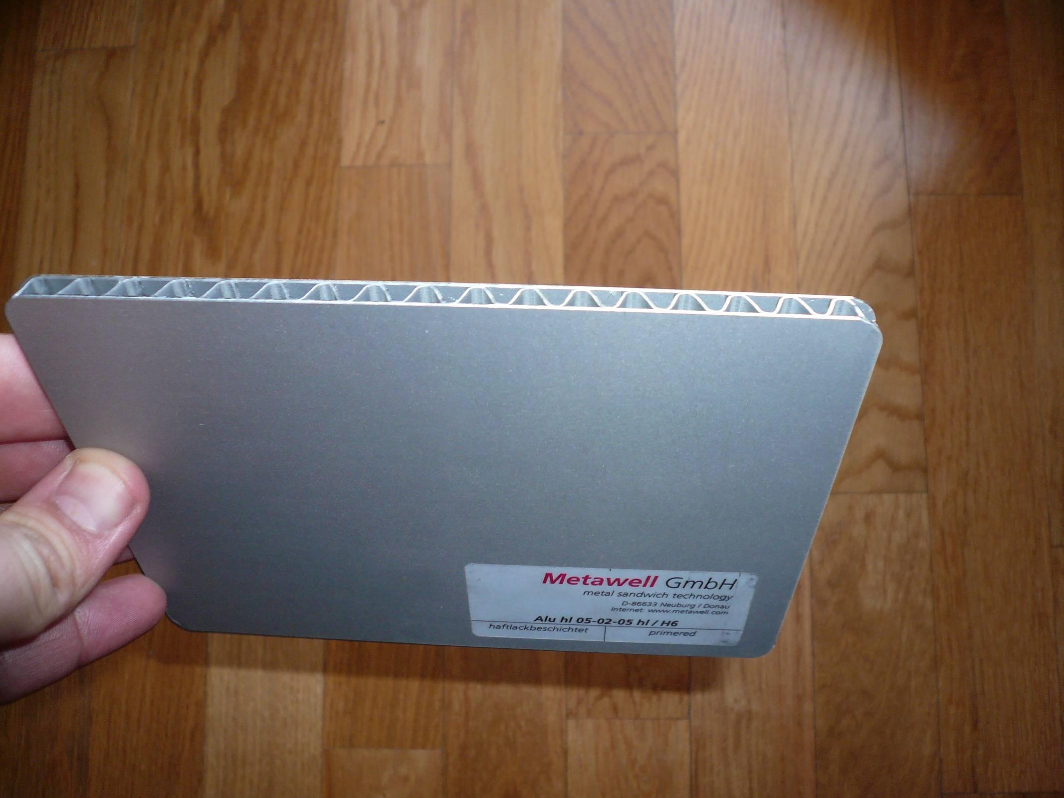 Panel sandwich aluminium | Boat Design Net