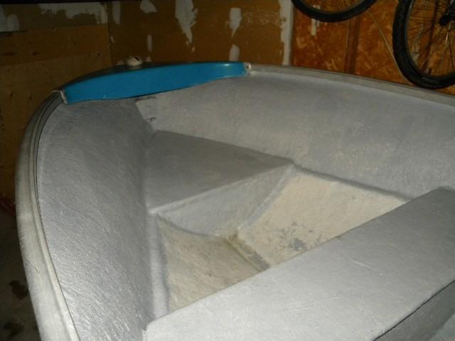 Building a casting deck on a 16foot fiberglass boat | Boat Design Net
