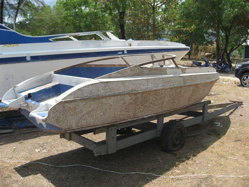 Should I or not? (ply speed boat restauration)   Boat Design Net