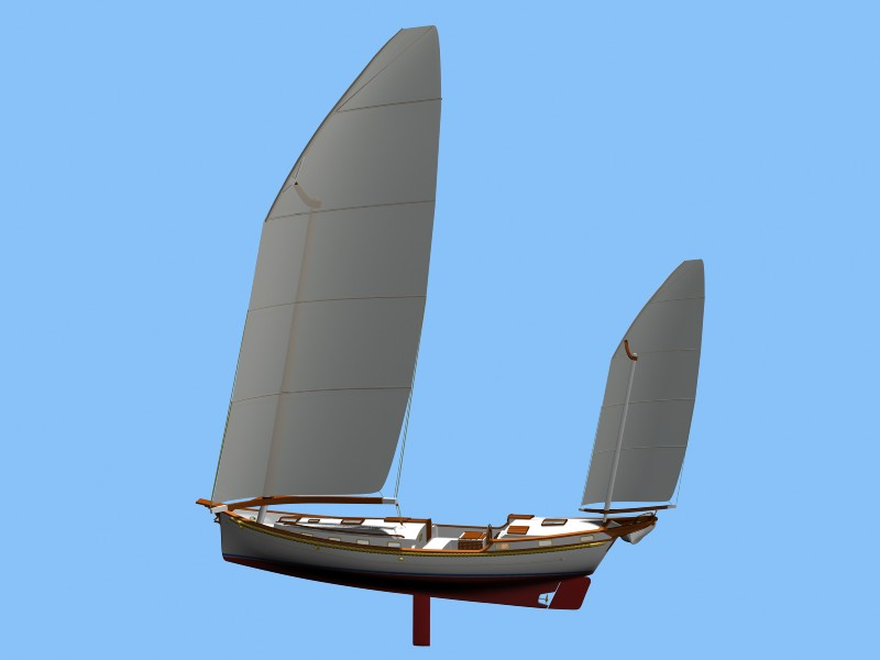 junk lateen yawl ? | Boat Design Net