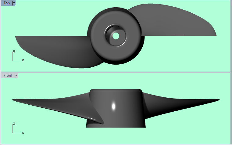 Dimensions of trolling motor prop | Boat Design Net