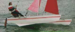 beach catamaran hull plans   Boat Design Net